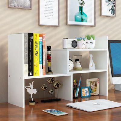 热销书架简易桌上学生用办公书桌面置物架收纳儿童宿舍小书柜简约