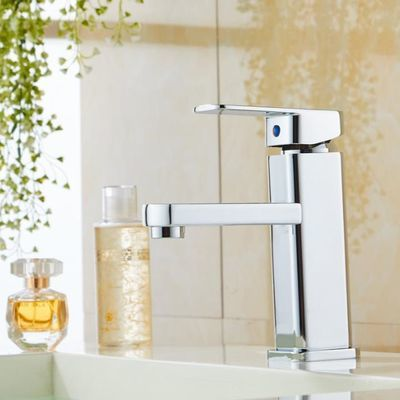 全铜单孔台盆洗手盆水龙头卫生间冷热混水阀洗脸盆面盆单冷水龙头