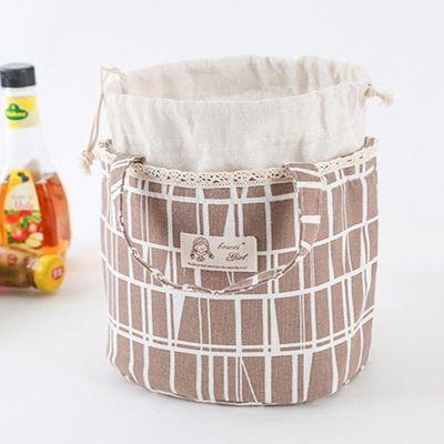 防漏双层时尚饭盒手提学生保温饭盒袋保鲜包袋盘包袋子冷藏箱家用【2月29日发完】