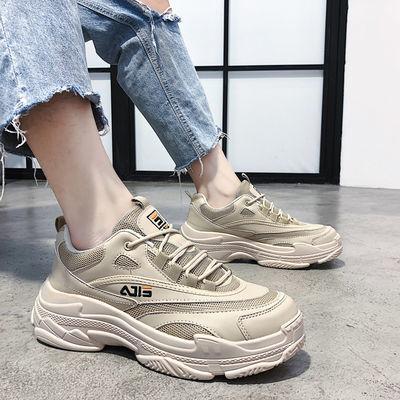 2019新款网红男鞋春季潮男鞋子韩版荧光反光板鞋男百搭夜光鞋潮鞋