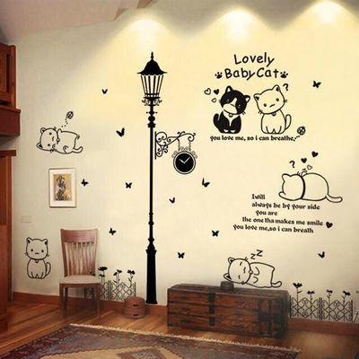 防水墙纸贴画自粘宿舍ins房间背景墙装饰品墙纸壁纸可移除墙贴纸