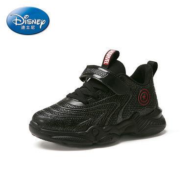 Disney迪士尼美国队长系列冬季新款儿童鞋子男童鞋休闲保暖运动鞋