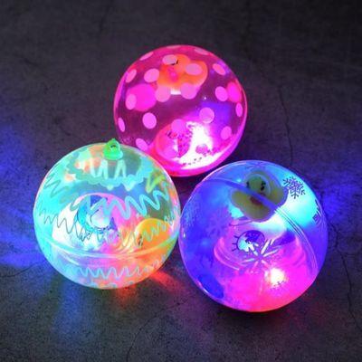 发光小玩具2020新款热卖闪光儿童弹力绳子水晶球夜市地摊货源批发