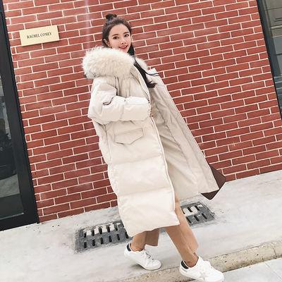 2019新款冬季加厚棉衣女中长款羽绒棉服女外套韩版宽松学生面包服