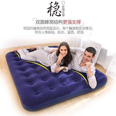 气垫床双人家用充气床单人午休折叠懒人冲气床便携式户外帐篷床垫