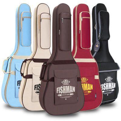 爆款加厚双肩吉他包41寸40寸38寸吉他包木吉它民谣古典吉他盒背包