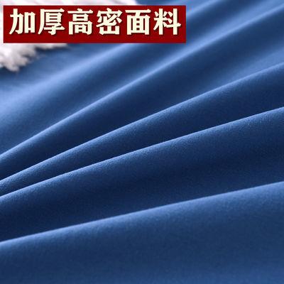爆款床单被套四件套床上用品像纯棉网红款纯色简约公主风加厚4三