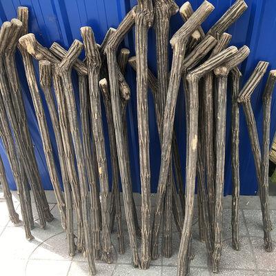 正宗五台山降龙木六道木原木拐杖拐棍手杖文明杖原木棍