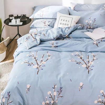 【被套+床单+四件套】被套单件单双人被罩床上用品褥罩家纺三件套