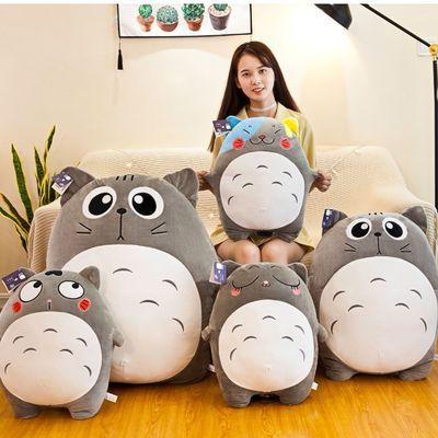 【新款】龙猫公仔毛绒玩具睡觉抱枕可爱玩偶布娃娃生日礼物女生in
