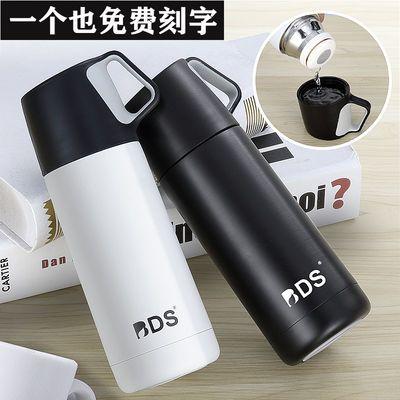 【简约时尚】保温杯男女情侣学生便携大容量真空304不锈钢水杯子