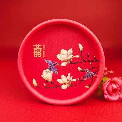 婚礼喜糖盒子新中式创意结婚抖音创意糖果盒中国风礼盒装成品含糖