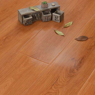 新品品圣12mm强化复合木地板 高密度基材封蜡防水耐磨防烟头 明星