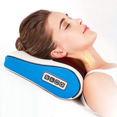 金凯瑞颈椎按摩器颈部腰部背部脖子多功能电动躺式按摩器颈椎