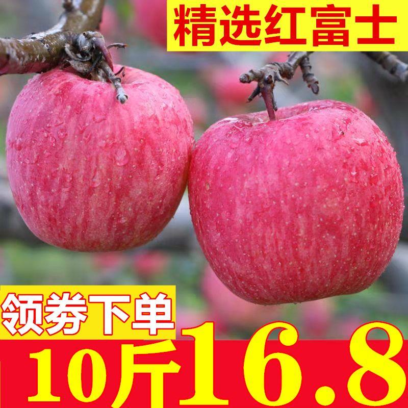 苹果水果新鲜红富士水果现摘苹果脆甜丑现货脆