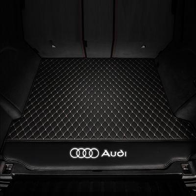 2019新款奥迪A6L专用皮革汽车尾箱垫2012-2018年A6L防水后备箱垫
