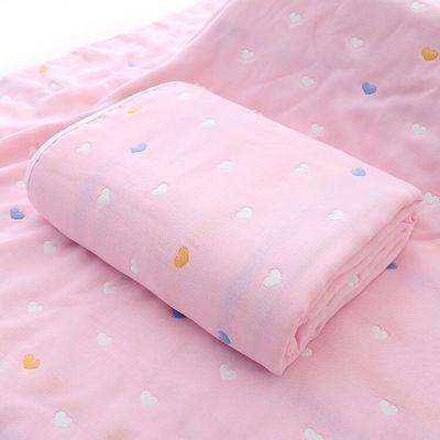 婴儿浴巾纯棉新生儿宝宝洗澡巾初生儿童大毛巾柔软吸水纱布盖毯棉