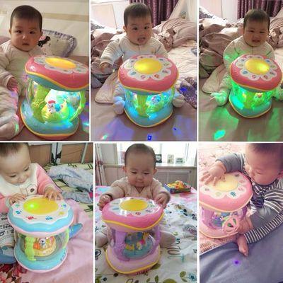 婴儿玩具手拍拍鼓音乐男孩女孩宝宝3-6-12个月7幼儿0-1岁益智8周