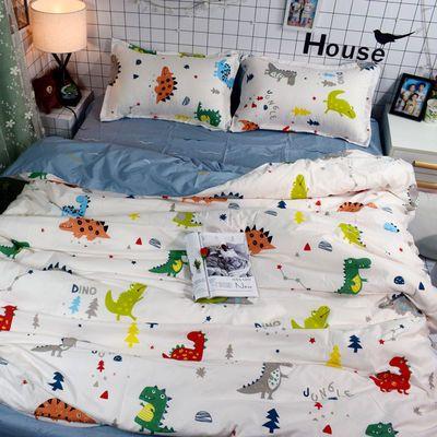 网红卡通哆啦a梦被套ins四件套床上用品寝室床单4三件套学生宿舍【2月29日发完】