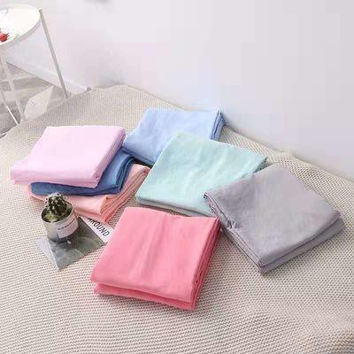暖芯家纺纯色水洗棉床单枕套三件套活性印染无印良品简约宜家风格【2月29日发完】