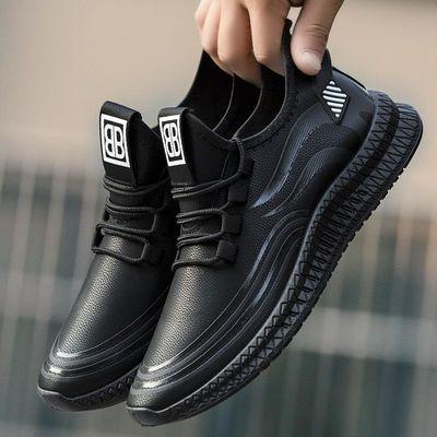 男鞋潮鞋2019新款男士棉鞋运动休闲百搭板鞋韩版潮流加绒保暖冬季