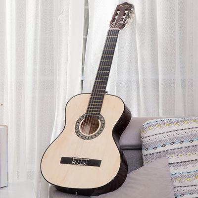 包邮39寸古典尼龙弦木吉他学生初学者吉它新手入门练习乐器送全套
