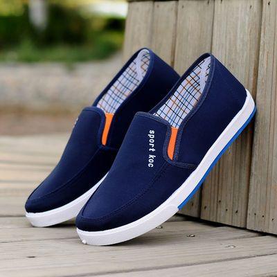 【牛津底片】男鞋帆布鞋男老北京布鞋男休闲板鞋透气防滑耐磨鞋子