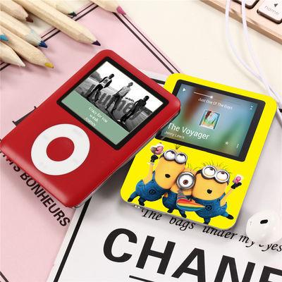 新品mp3 带外放音乐播放器随身听MP4可爱迷你学生运动有屏OTG手机