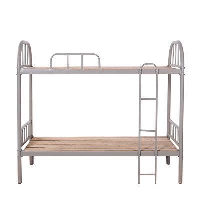 上下铺铁床双层学生寝室员工宿舍工地床加厚高低铁艺铁架床 批发