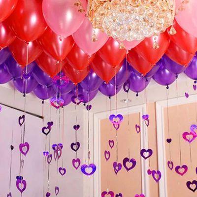 气球批发婚庆房场景装饰求派对网红儿童生日布置结婚用品大全会飞