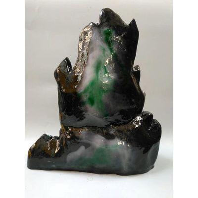 天然珠宝玉石雕刻玉器原石奇石南阳独山玉雕摆件翡翠工艺品
