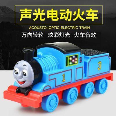 托马斯小火车声光音乐玩具车套装儿童电动男孩宝宝火车汽车模型