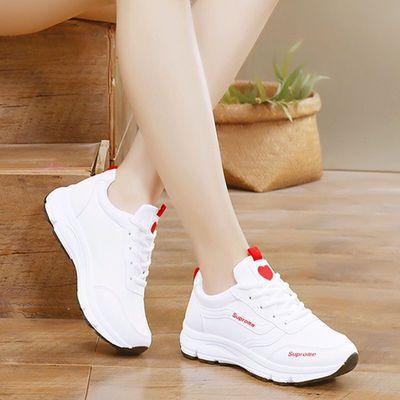 鞋子女韩版透气运动鞋女学生小白鞋2020夏季休闲鞋女鞋秋季平底潮