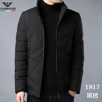 新款乔奇阿玛尼乔奇・阿玛尼冬季男装棉服中青年短款棉衣加厚外套