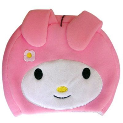 情侣款豆豆女孩 USB暖手鼠标垫暖手鼠标垫保暖