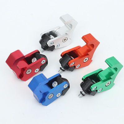 电动车摩托车改装件CNC铝合金收缩折叠挂钩 多功能前置挂物钩