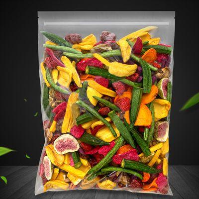 批发价秋葵脆 果蔬脆香菇脆 蔬果干蔬菜干脱水水果干即食薯条零食