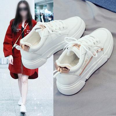 小白鞋女2020春季新款韩版百搭基础学生板鞋女生鞋子ins潮鞋爆款
