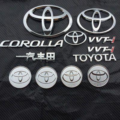 比亚迪G3 G6 F6 L3 M6 F3 改装丰田车标 卡罗拉凯美瑞标志车标贴