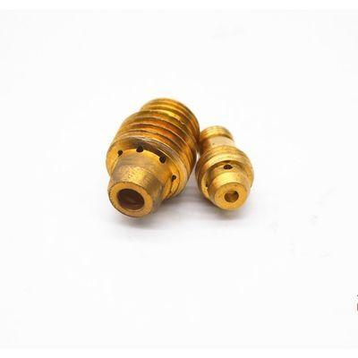 氩弧焊导流体Q150AQ300A连接体焊枪导流件黄铜接头导流器