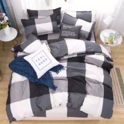 【北极獭】ins网红四件套床上用品仿棉学生床单被套单人4三件套【3月6日发完】