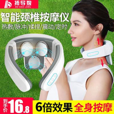 颈椎按摩器全身肩颈按摩枕腰部头部脖子多功能护颈家用电动按摩仪