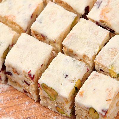 【买1斤送1斤】熙老板网红雪花酥手工牛扎糖糕点年货零食点心130g