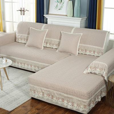 布艺时尚沙发垫坐垫子组合沙发防滑欧式皮沙发沙发套沙发罩沙发巾