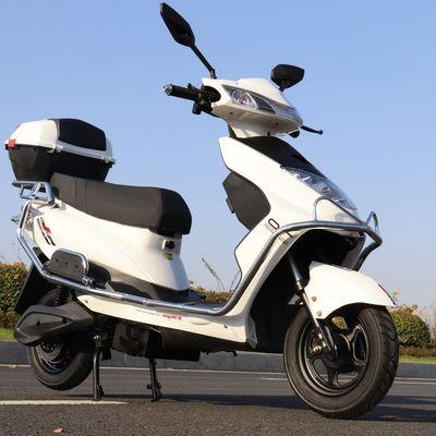 新款尚领电动车60v72V电摩两轮踏板迅鹰大疆外卖长跑王电动