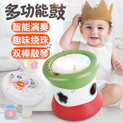 宝宝手拍鼓儿童拍拍鼓音乐乐器婴儿早教益智1岁0-6-12个月3玩具
