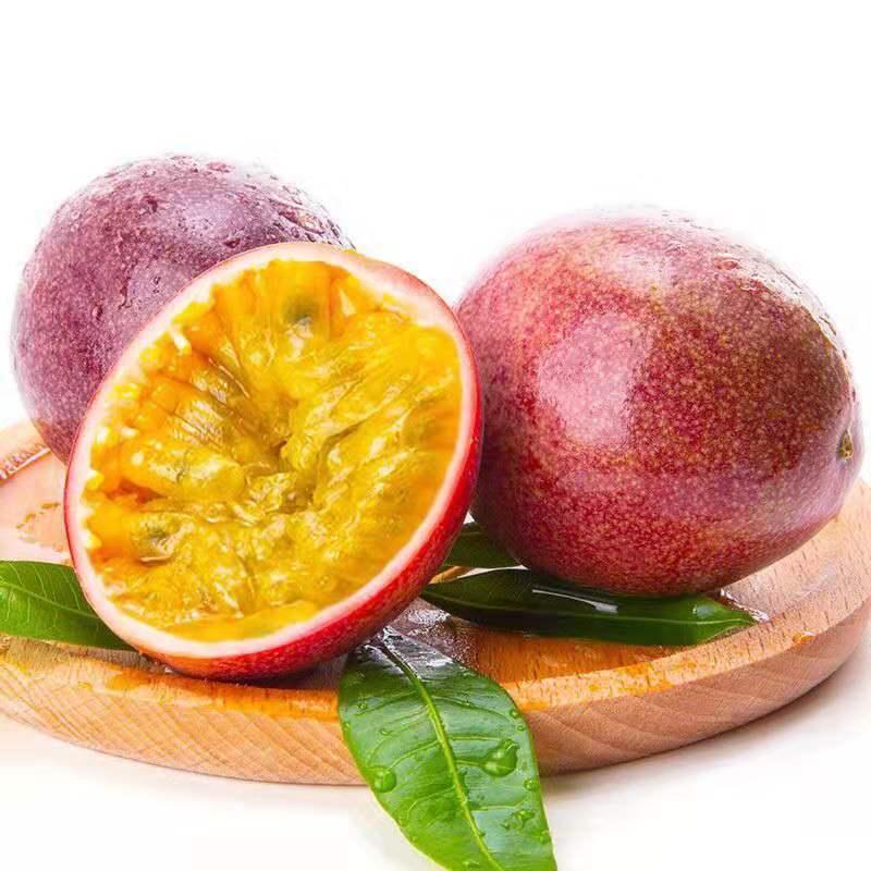 广西百香果热带水果新鲜鸡蛋果酱原浆10/3/5/1斤装大红果整箱包邮_6