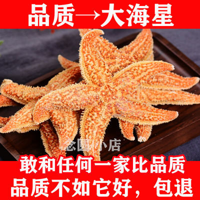 海星天然干海星中药材野生海星干红海五星泡酒料煲汤材料
