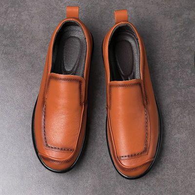 功能 透气;闭合方式 套脚;尺码 37,38,39,40,41,42,43,44,45,46,47,48;颜色分类 黑色,深棕色,浅棕色;鞋头款式 尖头;鞋面内里材质 二层猪皮;适用对象 青年(18-40周岁);鞋面材质 二层猪皮;款式 休闲皮鞋