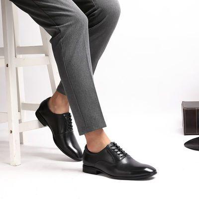 闭合方式 系带;尺码 36 37 38 39 40 41 42 43 44 45 46 47 48;风格 商务;颜色分类 黑色 白色 深棕色;鞋头款式 尖头;场合 日常;鞋面内里材质 头层牛皮;鞋面材质 二层牛皮(除牛反绒);款式 户外休闲鞋